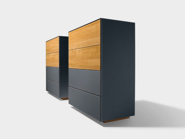 team 7 cubus pure schlafzimmer beim bel wien. Black Bedroom Furniture Sets. Home Design Ideas