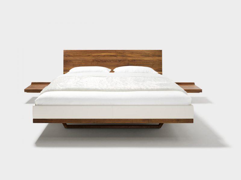 massivholzbett von team 7 wien. Black Bedroom Furniture Sets. Home Design Ideas
