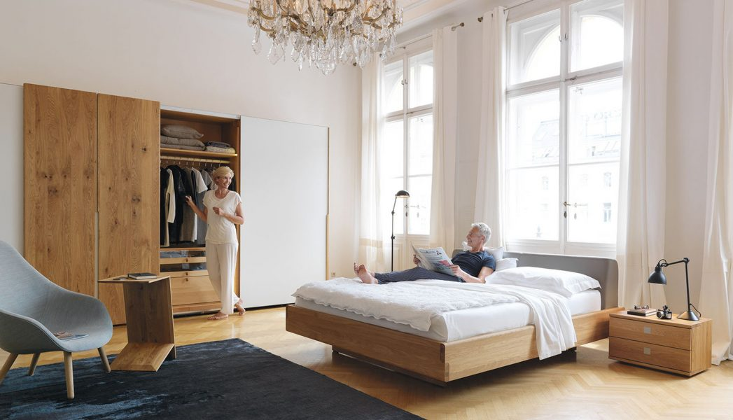 team 7 nox bett wien. Black Bedroom Furniture Sets. Home Design Ideas