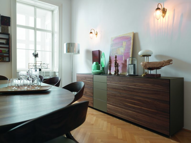 team 7 cubus pure esszimmer beim bel wien. Black Bedroom Furniture Sets. Home Design Ideas