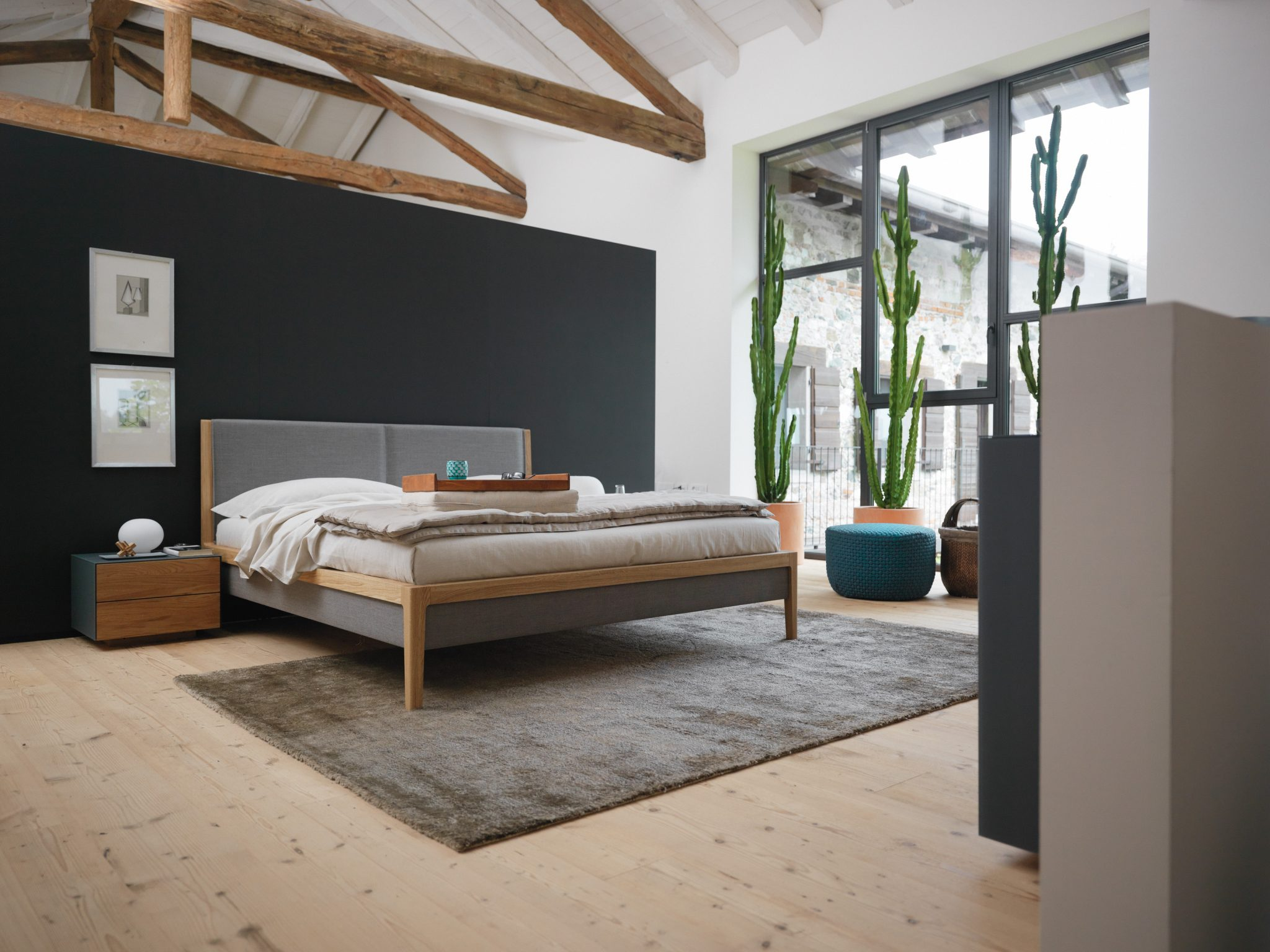 vollholz schlafzimmer von team 7 wien. Black Bedroom Furniture Sets. Home Design Ideas