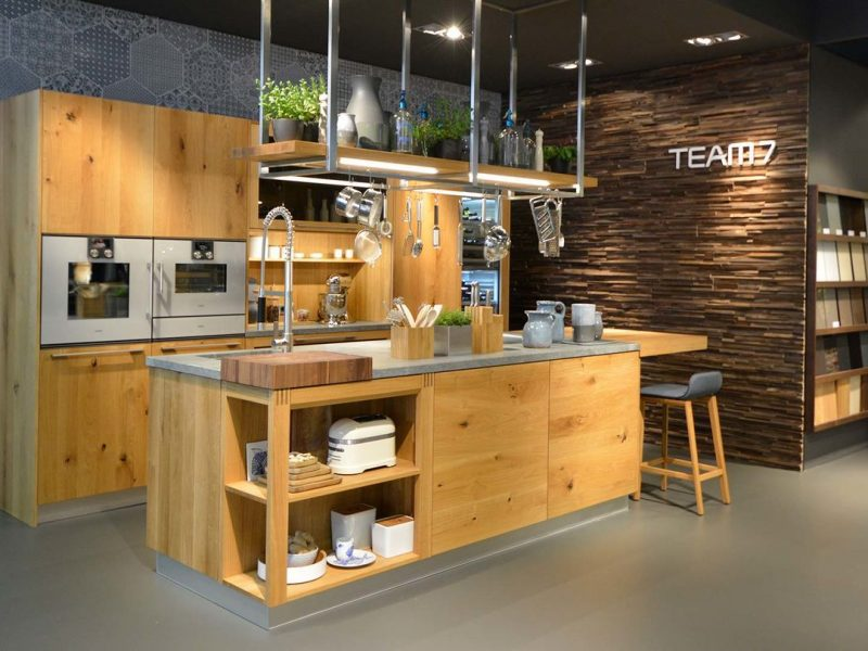Massivholz Küche Wien